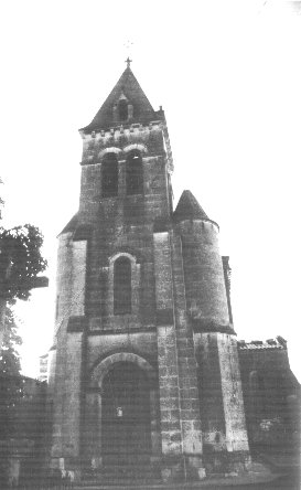 Eglise LaCaussade-clocher-n&b-1994.jpg (20262 octets)
